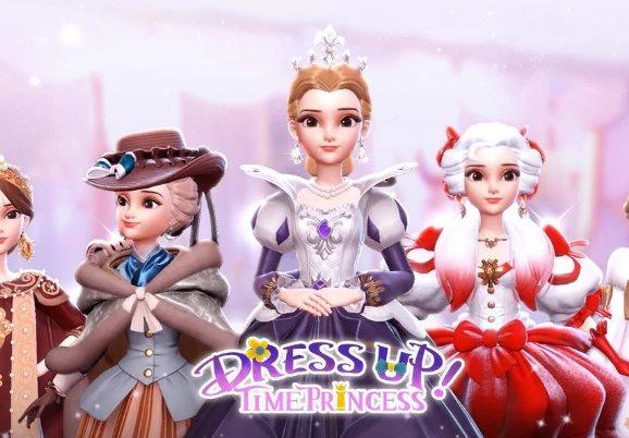 Bestimmung eines Dieners in Dress Up Time Princess