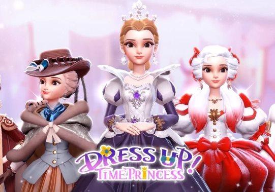 Geschenkführer in Dress Up Time Princess