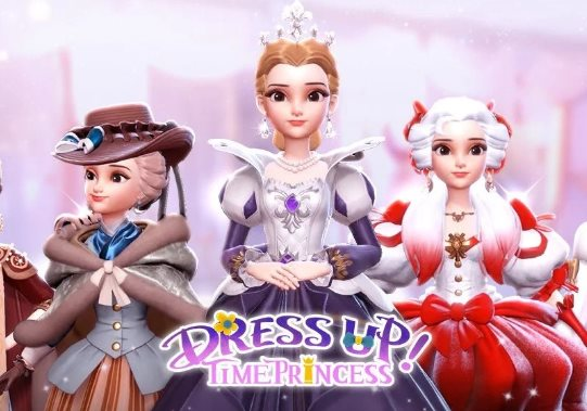 L'amante del re in Dress Up Time Princess