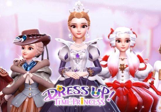 Rainha Maria em Dress Up Time Princess