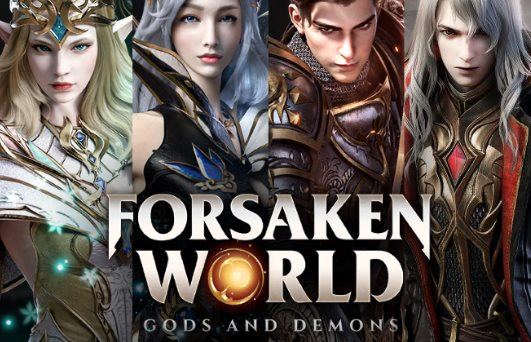 códigos de Forsaken World Gods and Demons