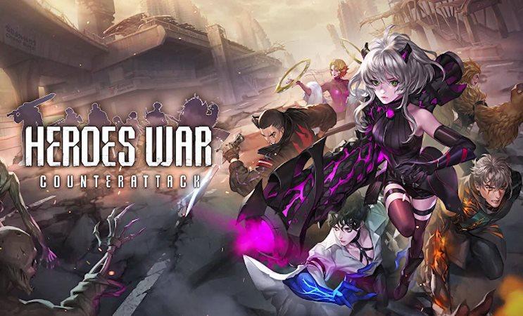 códigos de Heroes War Counterattack