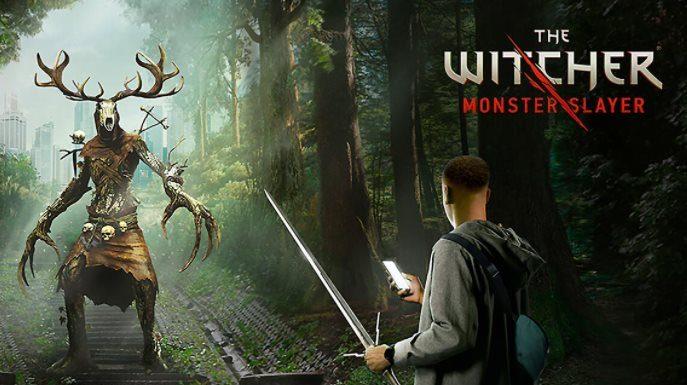 equipo The Witcher Monster Slayer espadas