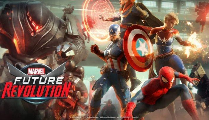 mejores héroes en Marvel Future Revolution