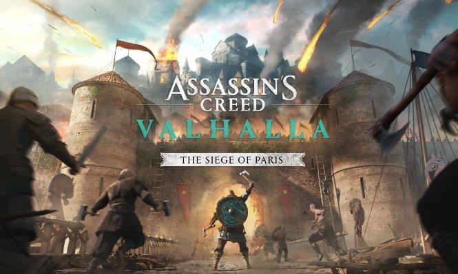 trophées Assassin's Creed Valhalla Le siège de Paris